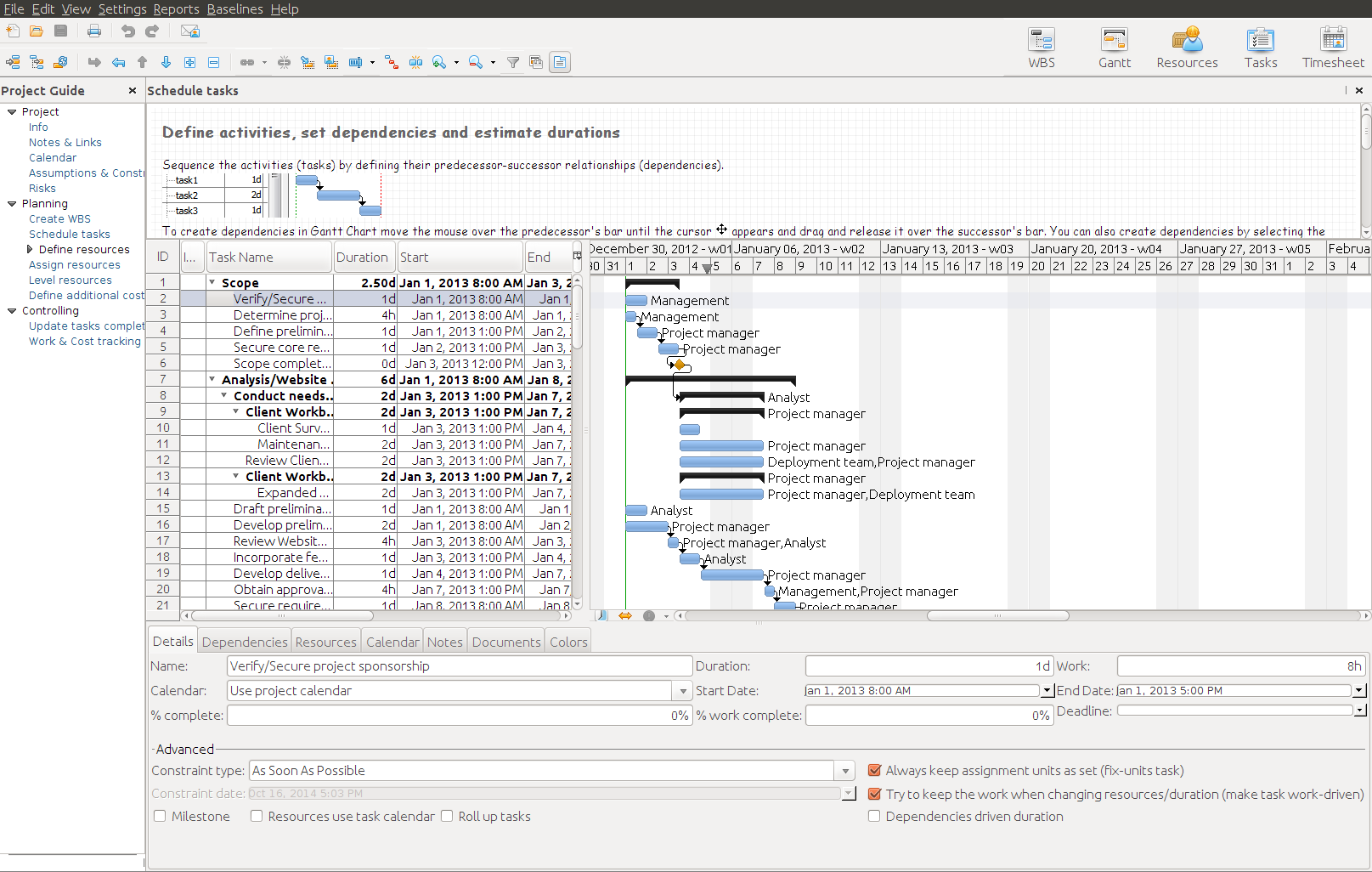 RationalPlan Single Project for Linux 5.0.7699