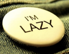 lazy team member