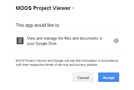 Microsoft Project viewer on Google Drive