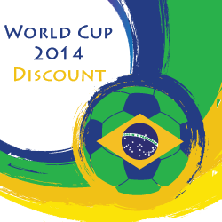 2014 FIFA World Cup Brazil discount for RationalPlan project management software